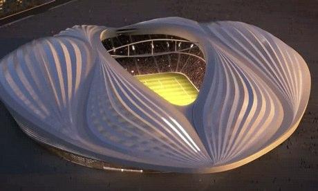 Le stade d'Al-Wakrah © Aecom