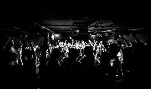 Soirée du label Minus au Rex Club