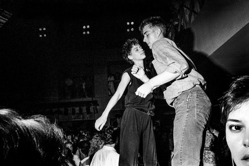 Ken Schles, Couple Dancing at the Palladium, 1985