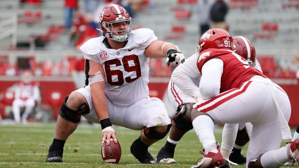 Alabama center Landon Dickerson declares for NFL Draft