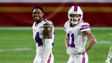 Bills receiver Stefon Diggs (not Cole Beasley) reacts to non-vaccinated player forfeiture rule - ProFootballTalk