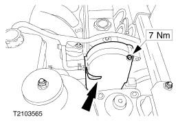 Замена ремня ГРМ с ручным натяжителем 1.8 Endura-DE Ford