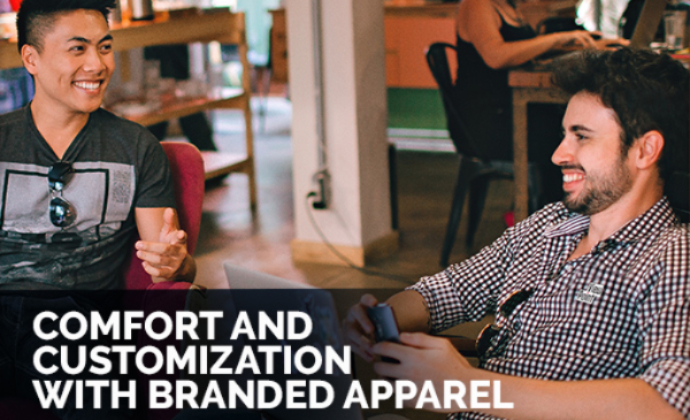 Comfort and Customization with Branded Apparel