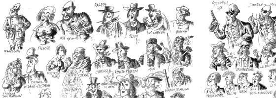 francoquin dessins de yak rivais