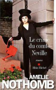 crime du comte neville- nothomb
