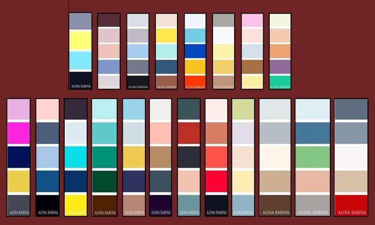 Combinacion de colores para tus diseos  MaldonadoNet