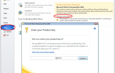 Microsoft Office 2010 Crack Activator For Free!
