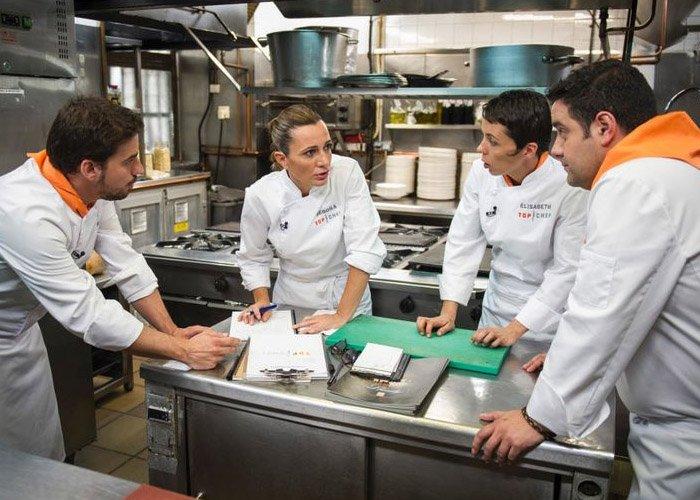 10 razones para preferir top chef original al espa ol for Equipo para chef
