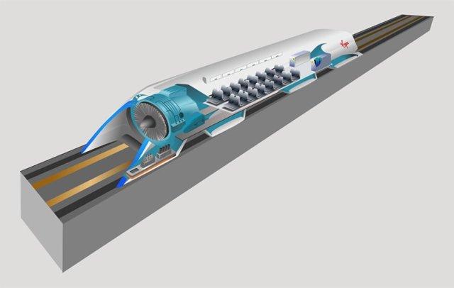 Concepto de Hyperloop