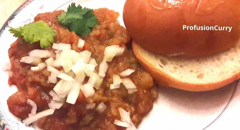 Paav Bhaji – Healthy Vegetables Stew -InstantPot