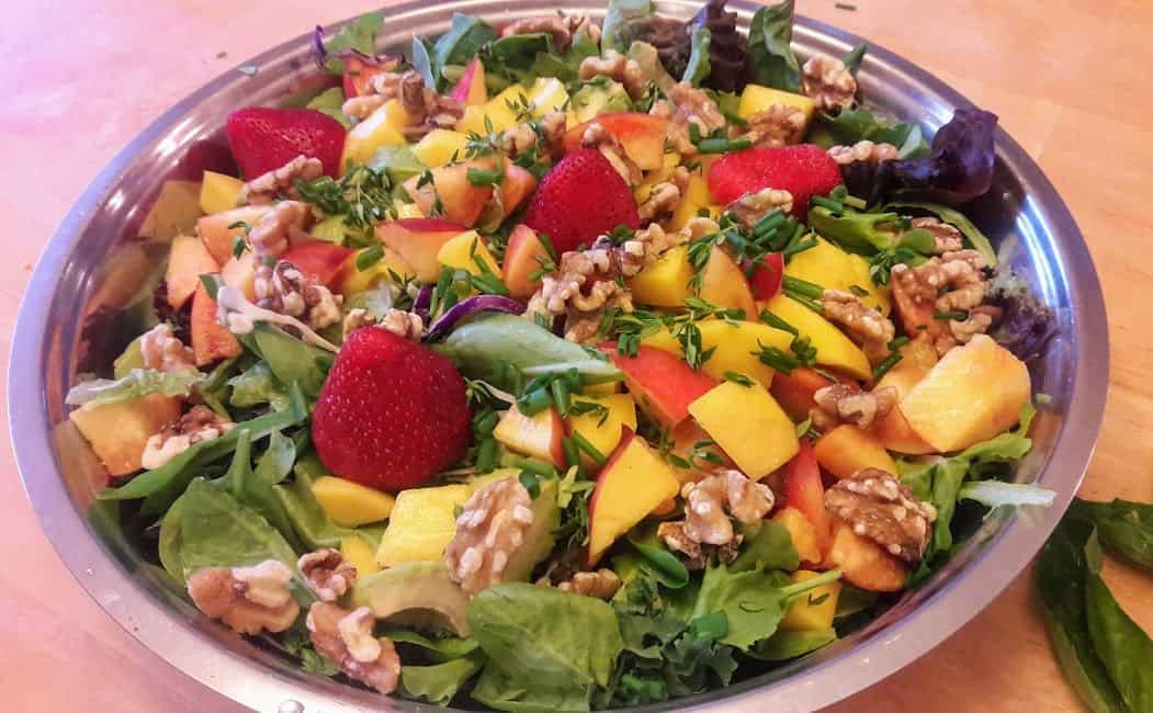 Summer Salad: Nature's bounty on a salad platter