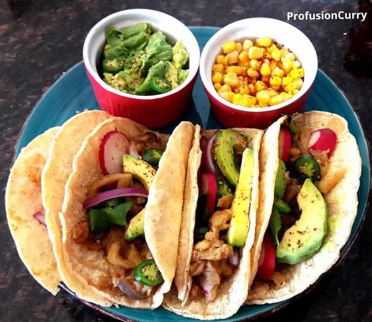 Green Jackfruit Tacos / Meatless-Gluten free-InstantPot
