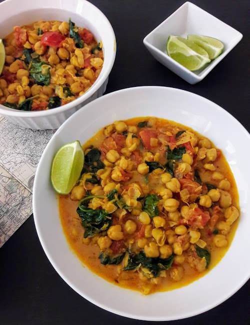 Chickpea Coconut Curry InstantPot