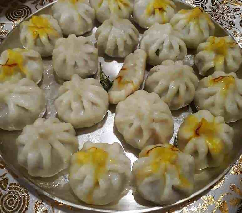 Ukadiche Modak – Rice Dumplings with Sweet Coconut Filling