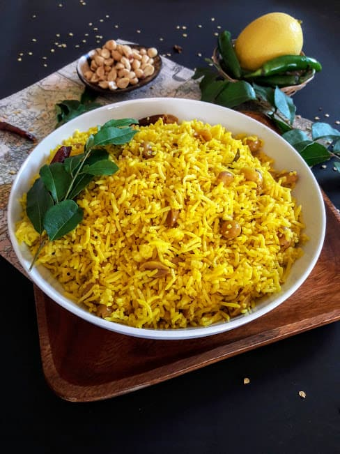 Turmeric Lemon Rice- InstantPot-Vegan-GF