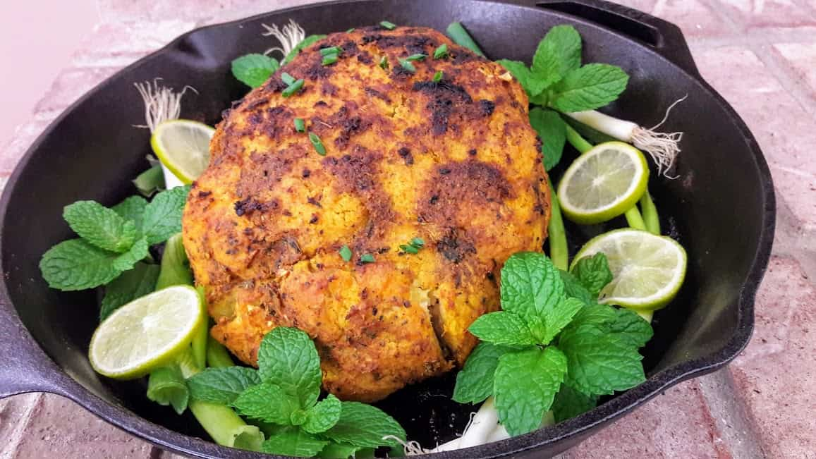 Cauliflower Whole Roasted Recipe ProfusionCurry