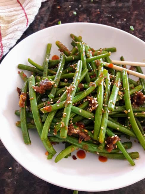Chinese Spicy Green Beans
