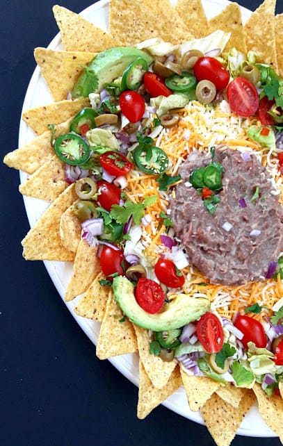 Super Delicious Nachos Recipe ProfusionCurry