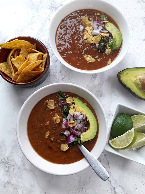 Easy Healthy Black Bean Soup