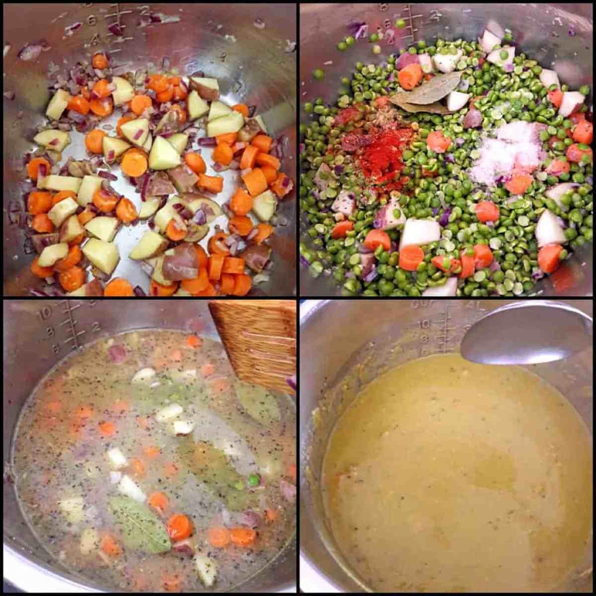 Spilt Pea Soup Instructions