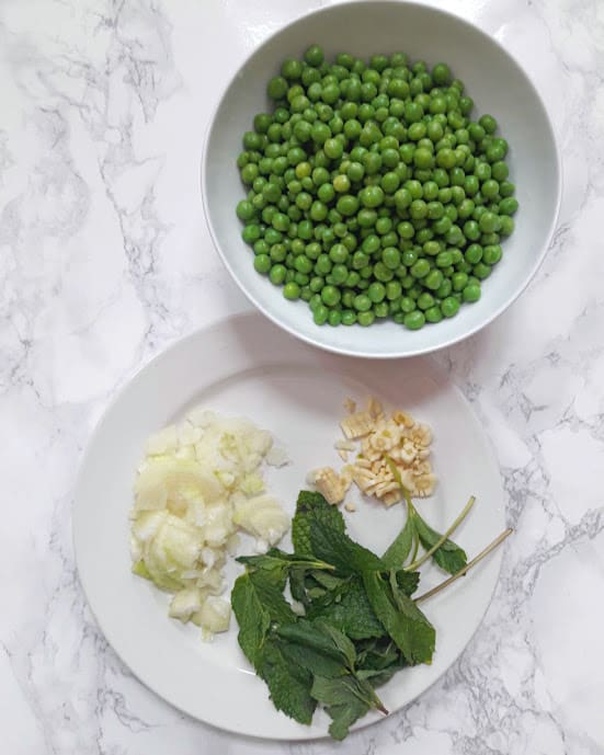 Green Peas and Mint Soup Ingredient List