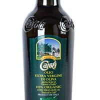 Real Italian Organic Extra Virgin Olive Oil. First Cold press. Imported from Italy. Awards Winner 16 Fl Oz Bottle
