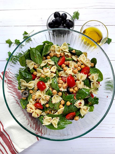Greek Fresh Pasta Salad