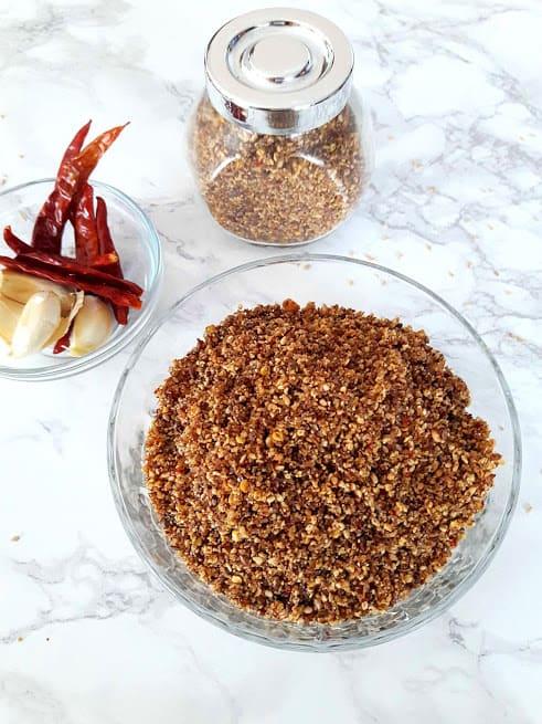 Flaxseed Garlic Chutney - Superfoods Chutney