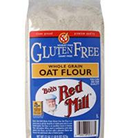 Bob's Red Mill Whole Grain Gluten Free Oat Flour, 22 Ounce (Pack of 4)