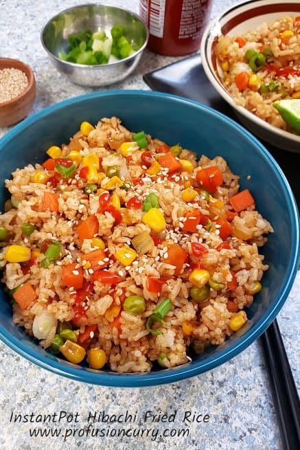 Hibachi Fried Rice - InstantPot