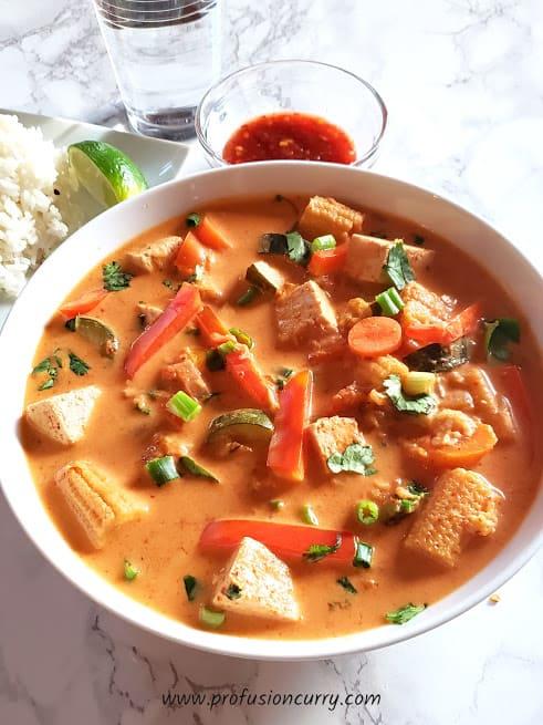 Thai Red Curry Recipe - Instantpot