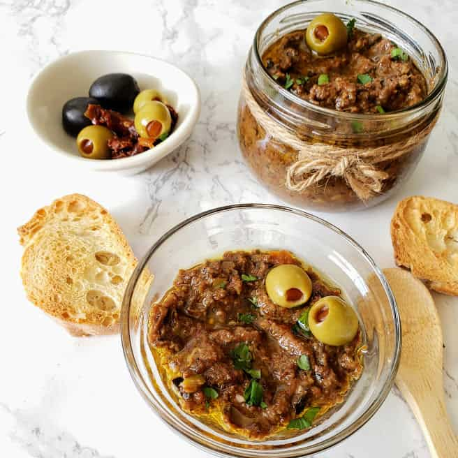 Easy Vegan Olive Tapenade