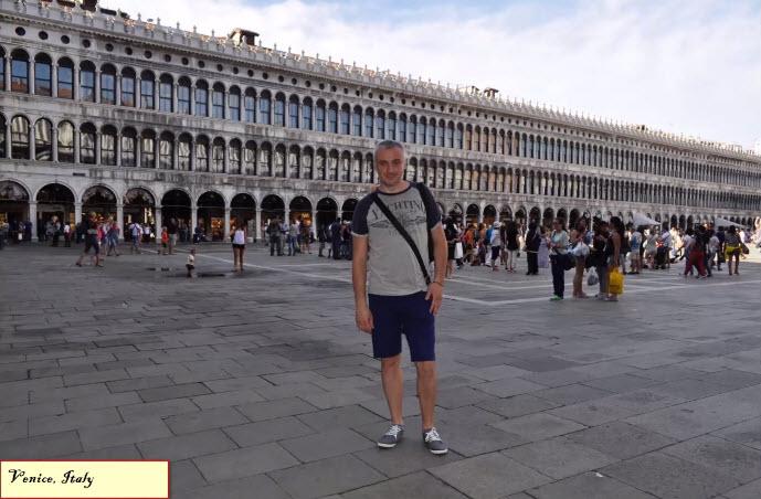Площадь Сан-Марко, Венеция, Италия