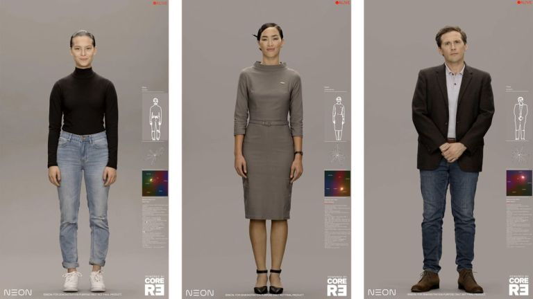 Samsung's Neon Project: Digital Bankers, TV Hosts, Companions