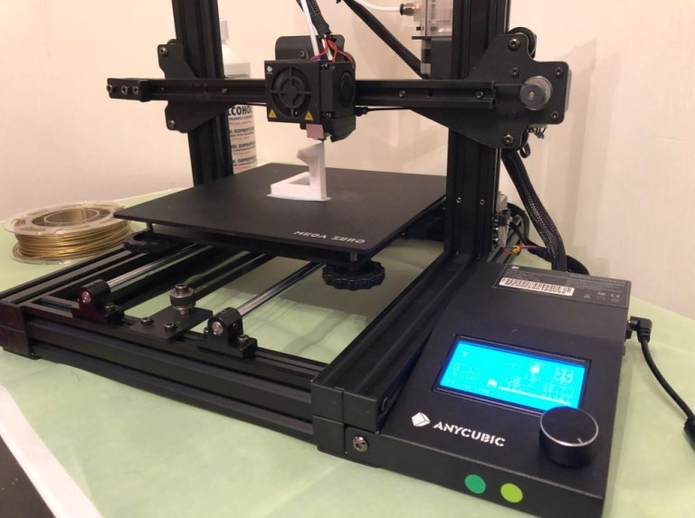 Overview of the 3D printer Anycubic MEGA ZERO
