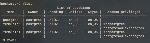 PostgreSQL – some features of the database and encodings in it