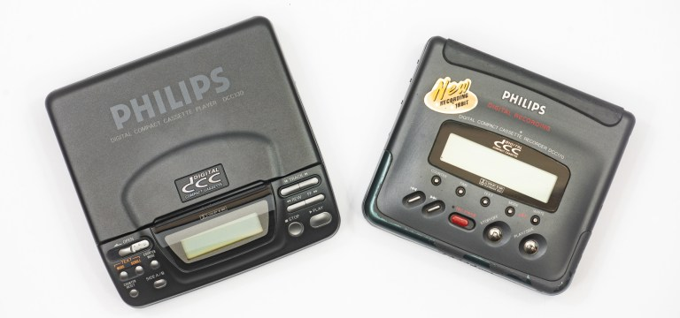Philips DCC in your pocket and 1994 digital Hi-Fi