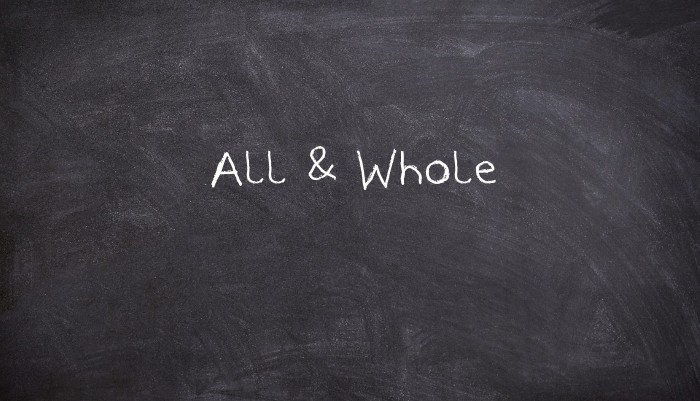 All and Whole: how to distinguish everything, everything and everything in English