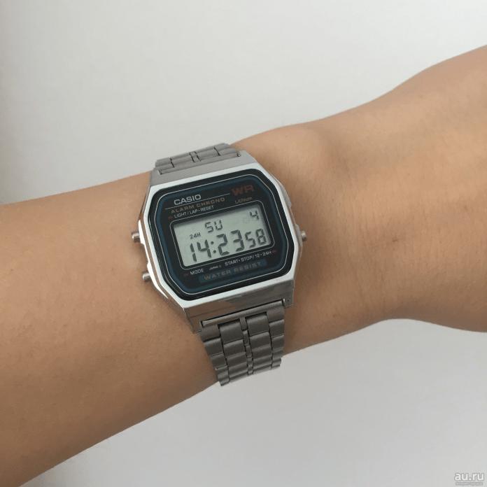 Сучасний варіант легендарних Casio W-780
