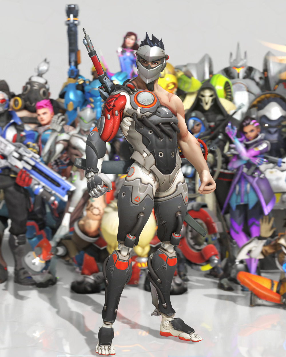 Overwatch Genji Skins 2018 Cosmetics Loot Boxes Costs Pro Game Guides