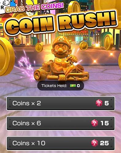 Mario Kart Tour Coin Rush Гайд