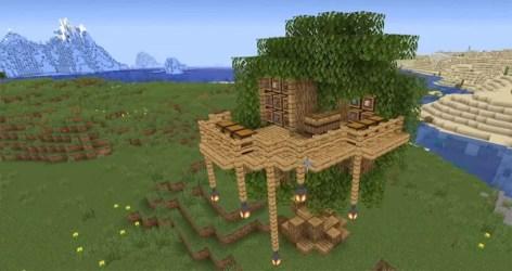 minecraft houses cool build tree pro mumbo jumbo guides credit