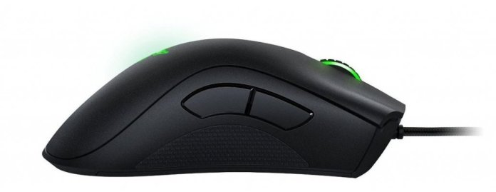 Image of Razer deathadder gaming mouse for PC