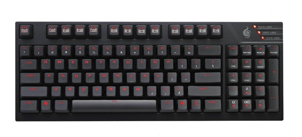 Image of compact mechanical keyboard