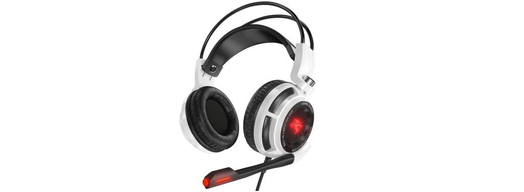 Image of gaming headset with surround sound