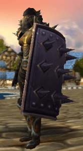 Image of warrior with t6 and bulwark in wow