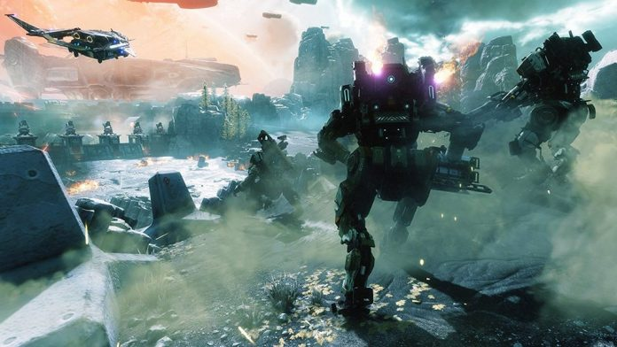 Wallpaper from Titanfall 2