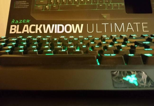 Image of my own Razer Blackwidow keyboard