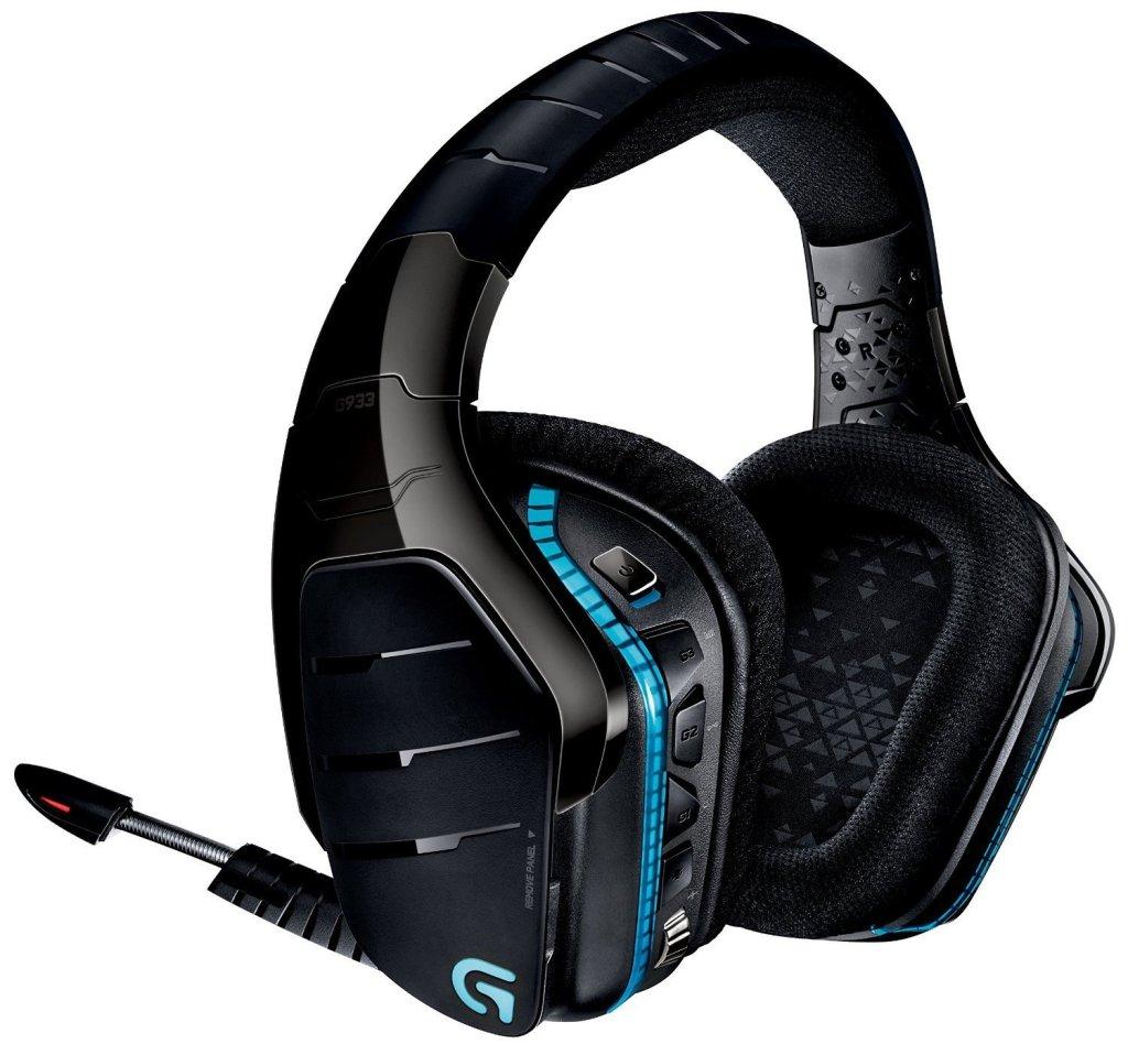 Image of Logitech G933 artemis spectrum wireless headset