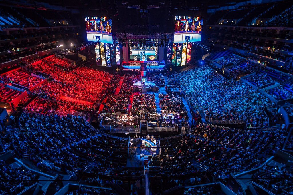Image taken from LoL ESL esports tournament